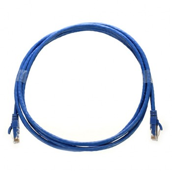 Patch Cord Cat6 Cmr 10 Foot 3 00 Mts Color Azul Patch